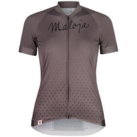 Maloja HaslmausM. 1/2 Short Sleeve Bike Jersey Women, stone